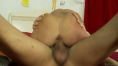 The cuttie relishes every secondf that cock spends fucking her pussy