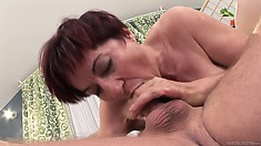 That aroused female with big ass wants to get a lot of orgasms today