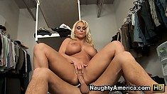 Holly Halston is skewered onto the dick of a Turkish wang meister