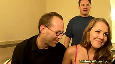 Two of Drew Butterfly's biggest fans are about to bang her raw