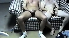 Horny dudes share hot kisses and take each other's dicks to pleasure