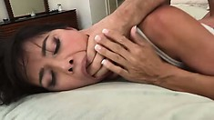 Dana Vespoli is a lovely exotic beauty who loves receiving anal