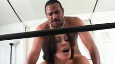 Carmen becomes an instant addict to black cock after her first taste