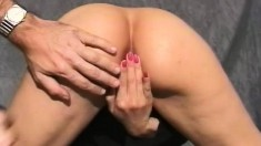 Sexy Babe With A Superb Ass Saki Bends Over To Reveal Her Tight Peach