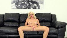 Provoking blonde with a superb ass Natalia Starr needs to get fucked