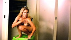 Sexy Blonde Babe Brittney Is Posing Naked And Showing That Hot Ass