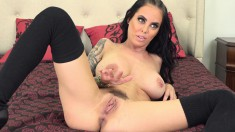 Stacked Brunette Welcomes Every Inch Of Hard Meat In Her Hungry Pussy