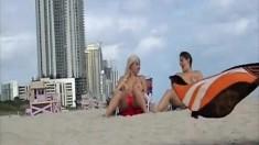 Voyeur On Public Beach Sex