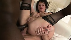 Engaging babe Zaza gets anal boffing from horny fucker Richard Langin