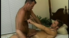 Patrick Ives invites two of his gay buddies over to have some fun