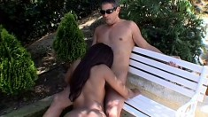 Tender and experienced womanizer takes what he wants from lovely slut