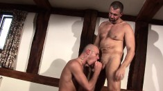 Jack Saxon & Jake D Love Slurping On Dick And Getting Their Ass Hammered