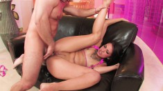 Sexy Coco Velvett loves getting her pussy worked until she squirts