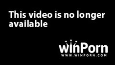 Stacked blonde teeny getting used and abused by two hung black studs