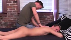Kinky Gay Masseur Gives A Hot Guy The Treatment He's Been Waiting For