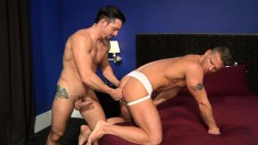 Hot Guy Pleases Himself And Drills His Partner's Ass With A Huge Dildo