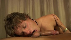Horny Gay Stallion Is Eager To Thrust His Python Into A Dude's Ass