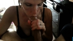 White Slut Deepthroats Bbc And Makes It Explode Quickly