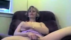Mature Masturbation And Blowjob