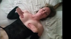 Husband and Wife Get it On