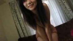 Adorable Asian Girl Rips A Loud Fart!