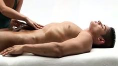 Massage Slut Sucking Cock And Giving Handjob In Hd
