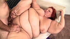 Fat bbw granny pussy fucked and cant get enough