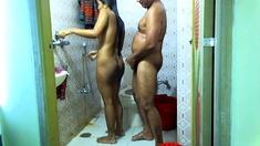 Next Door Indian Wife Voyeur Shower