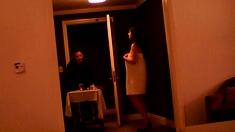 Towel Drop For Room Service Man
