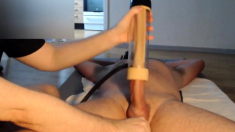 VENUS 2000 - Me edging a big cock with hands and venus