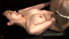 Japanese MILF wanking POV cock